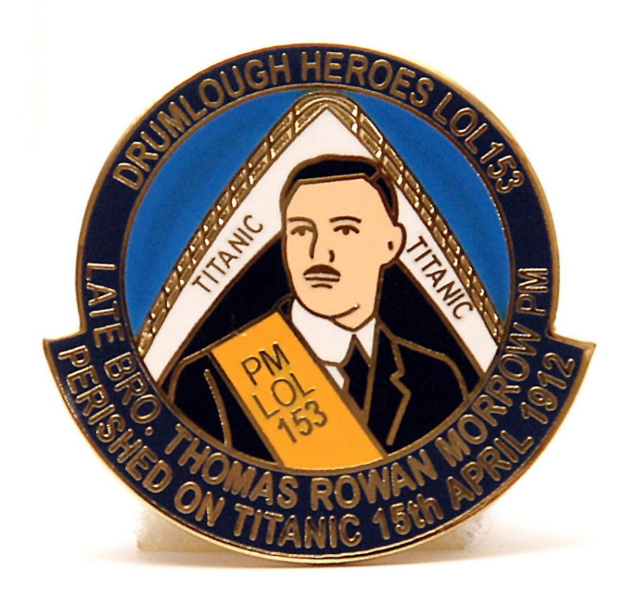 Titanic | Thomas Rowan Morrow | Enamel Pin Badge