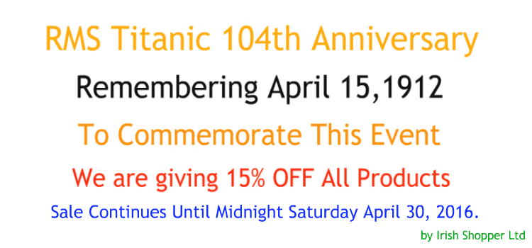 Titanic 104th Anniversary