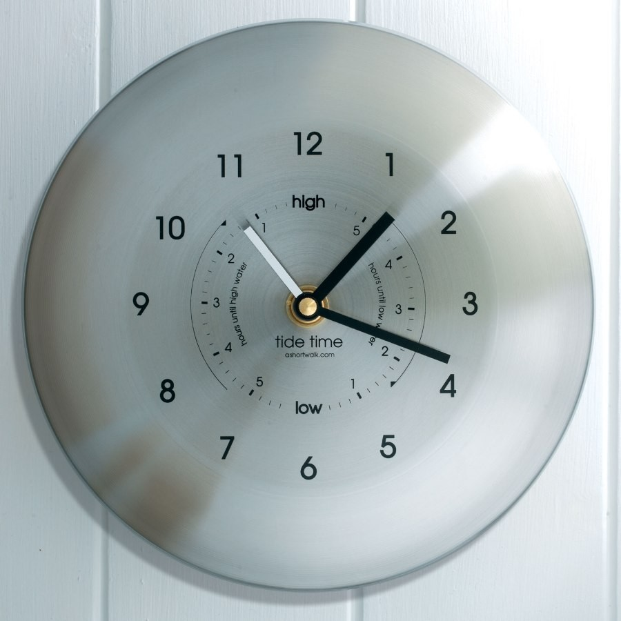 Time and Tide Wall Clock - Cream