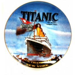 Titanic Bone China Plate 20cm