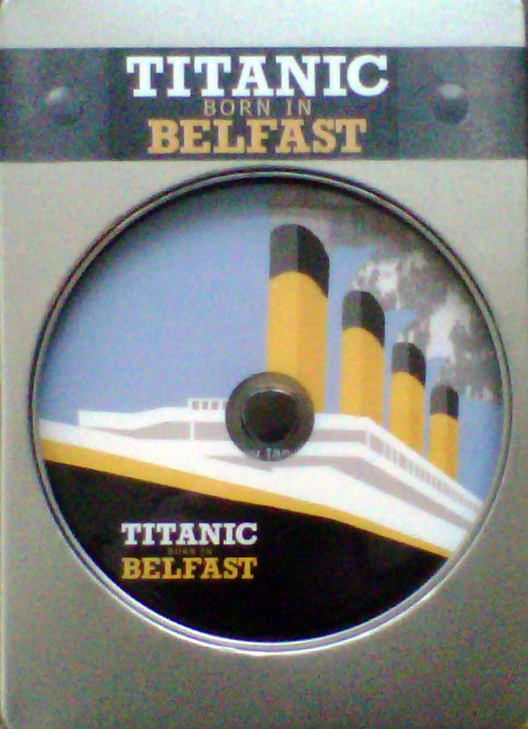 Titanic Born In Belfast DVD - 50 min History of the Titanic/Prem