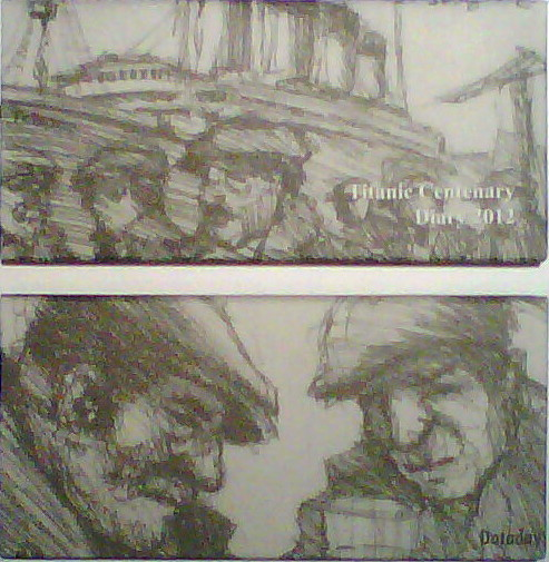 100th Anniversary Titanic Diaries/Set of 2