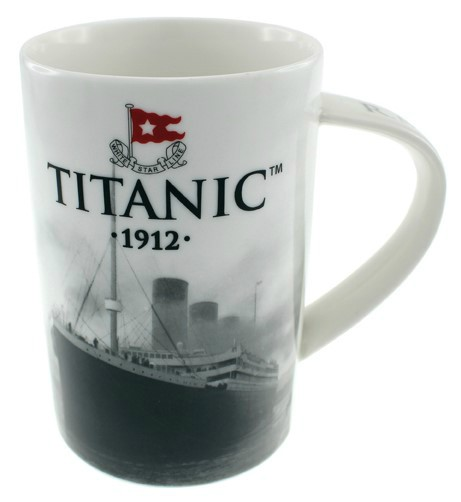 White Star Line Titanic China Mug