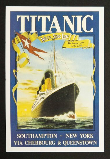 RMS Titanic Postcards
