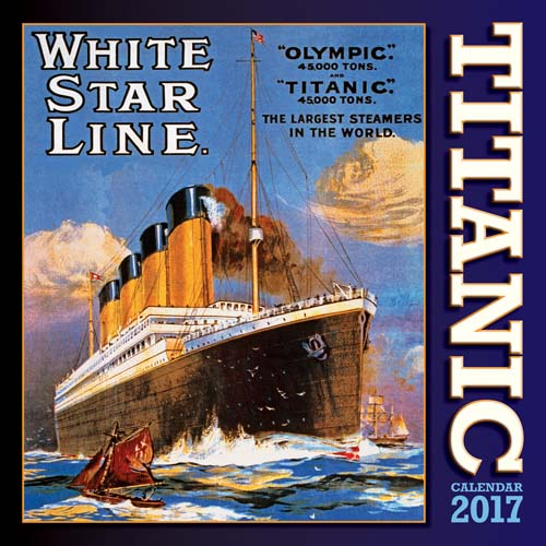 * Titanic and NI 2017 Calendars