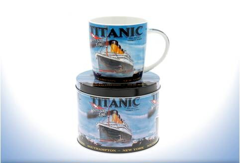 RMS Titanic Mugs and Plates