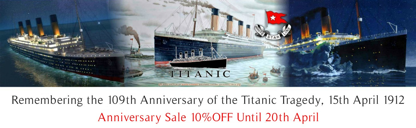 Remembering 109th Anniversary of Titanic