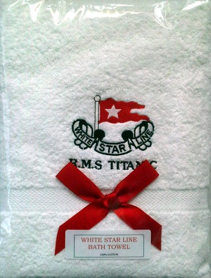 RMS Titanic Bath Towel