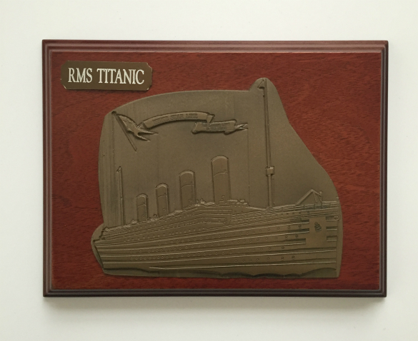 RMS Titanic Wall Plaque