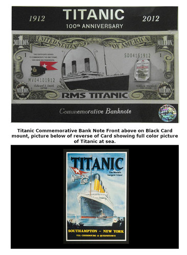 Titanic | 100th Anniversary | Commemorative Banknote | 1912