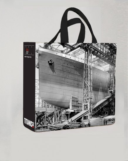 Titanic Gantry PVC Medium Shopping Bag