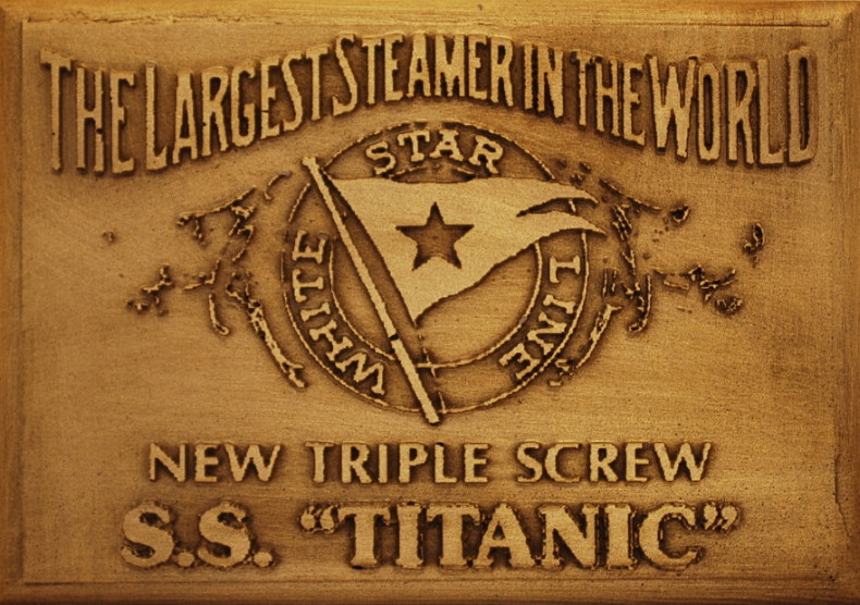White Star Line | New Triple Screw | Bronze Wall Plaque