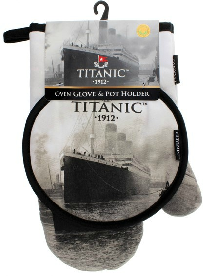 Titanic Oven Glove and Pot Holder