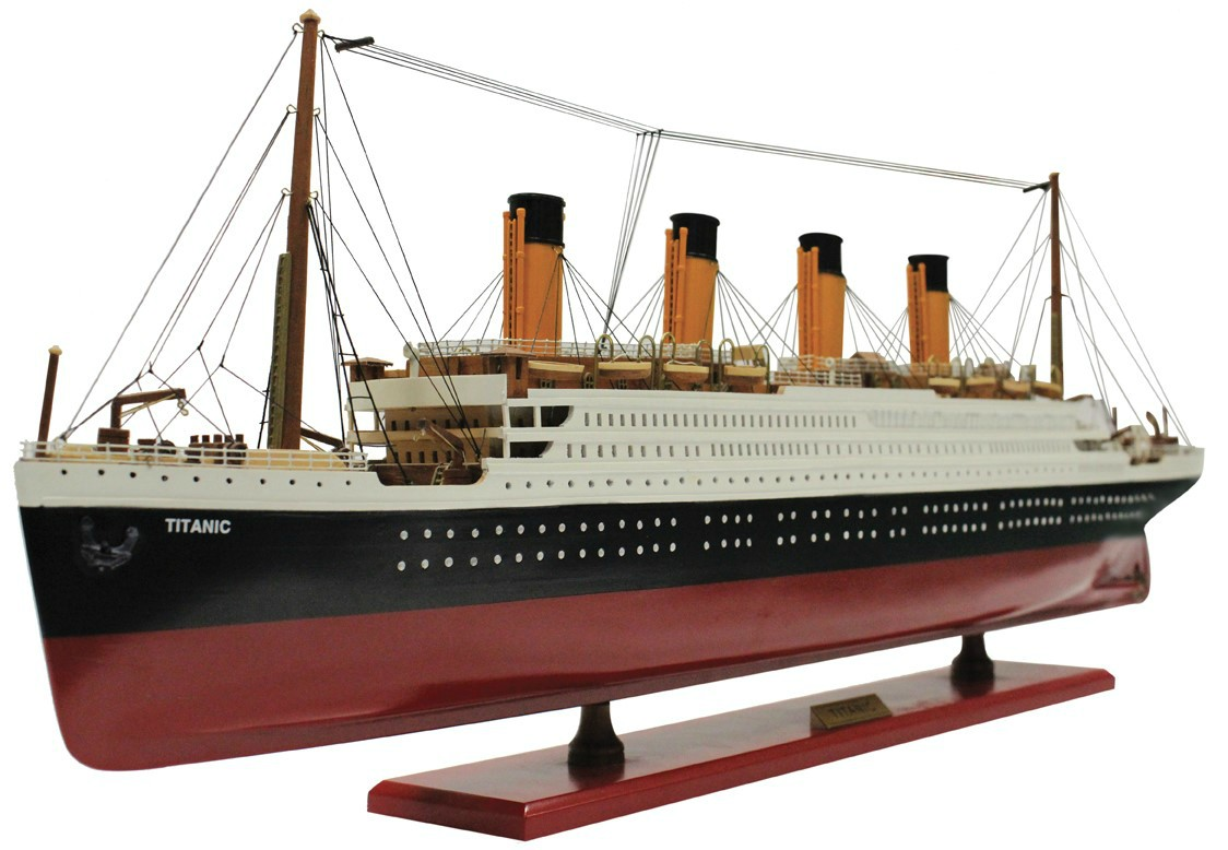 RMS Titanic Wooden Model 60cm