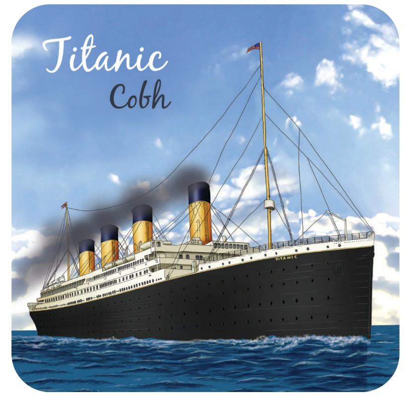 Titanic Cobh Coasters - Set of 4