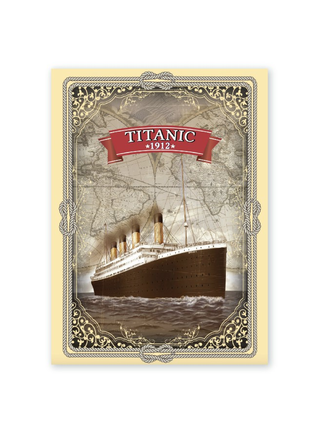 Titanic 1912 Cotton Tea Towel