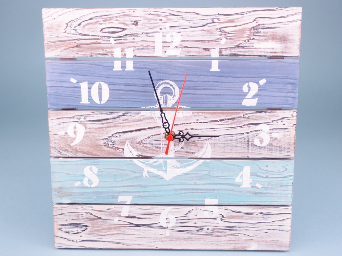 Quay and Sea Battery Operated Wall Clock 31cm