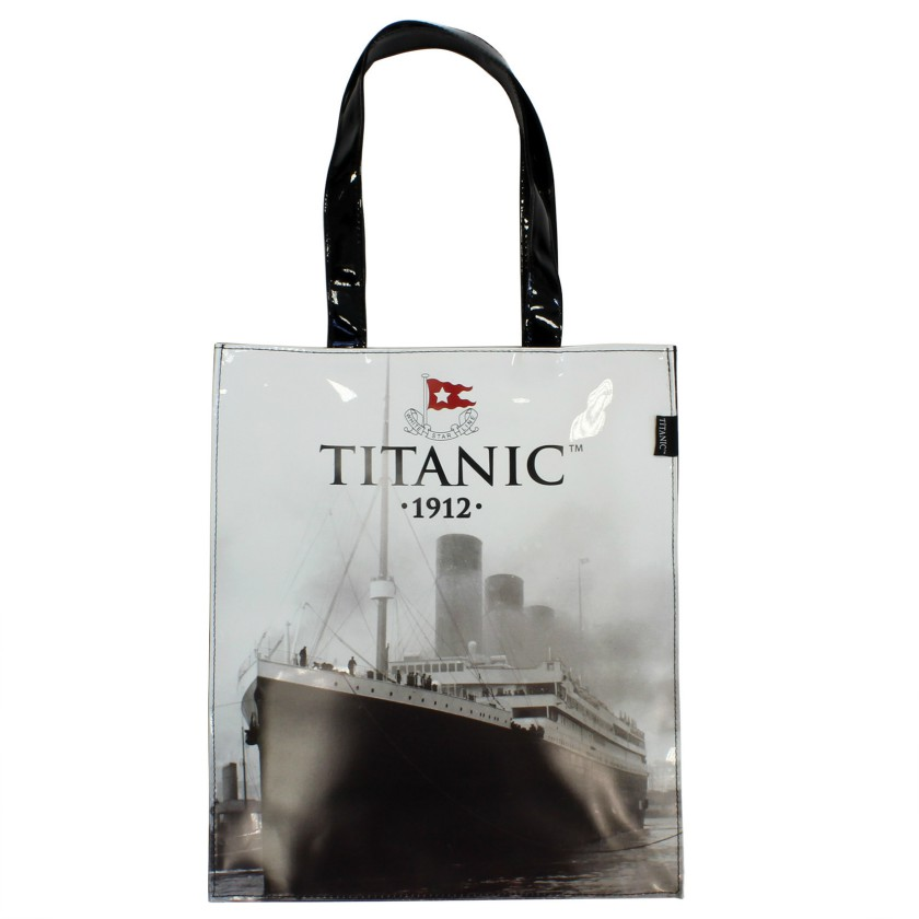White Star Line Titanic 1912 PVC Medium Shopping Bag
