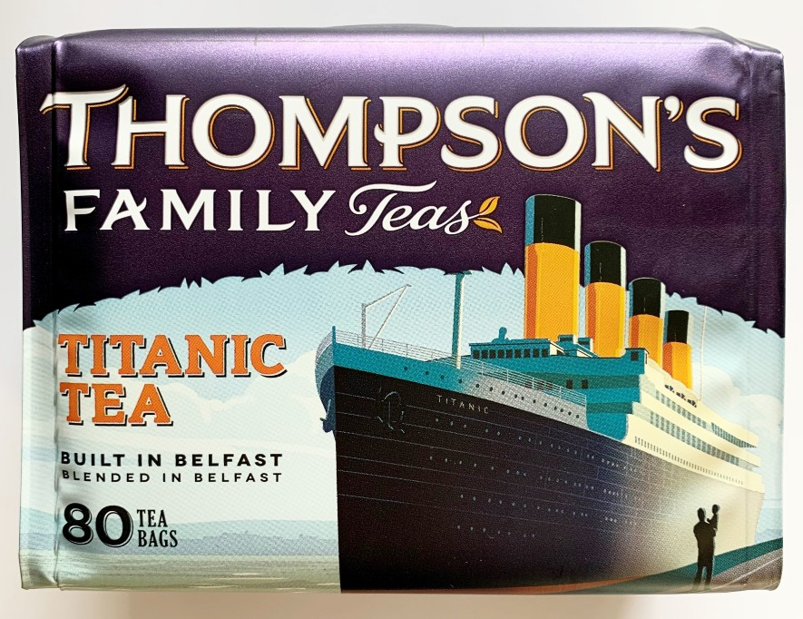 Thompson's Titanic Tea 80 Tea Bags