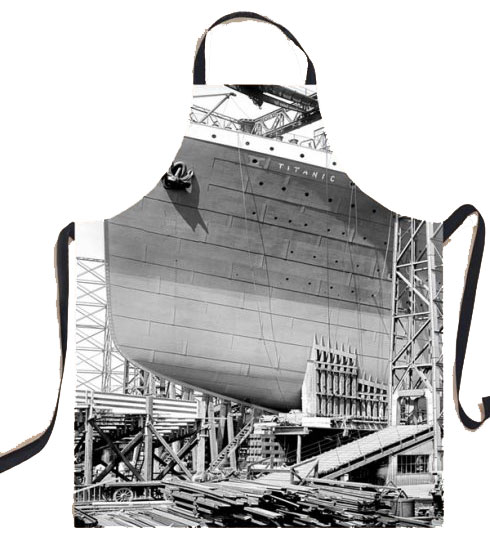 Titanic Gantry Cotton Apron