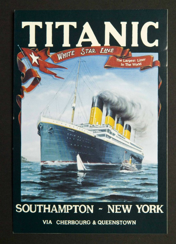 White Star Line Titanic Poster Image 26 Postcards Pack of 6
