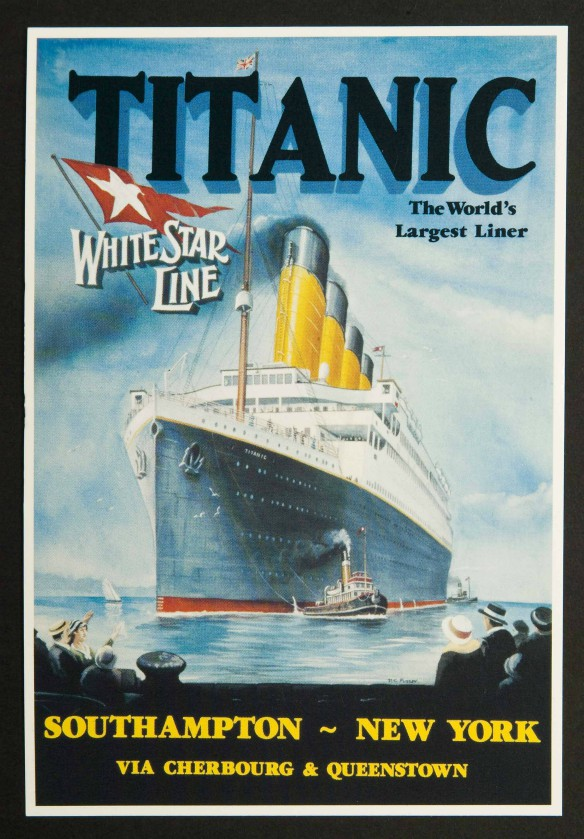 Titanic The World's Largest Liner Postcards Pack of 6