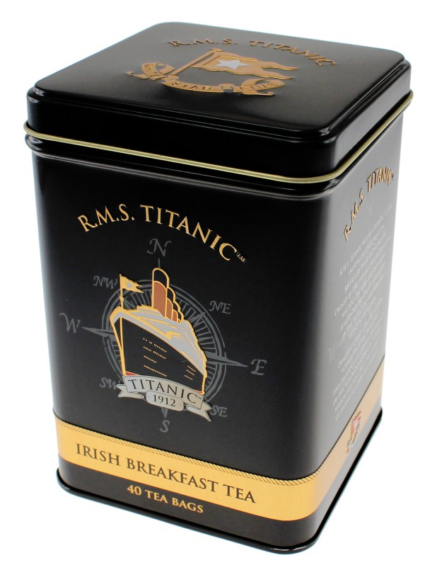 White Star Line RMS TItanic 1912 Irish Breakfast Tea