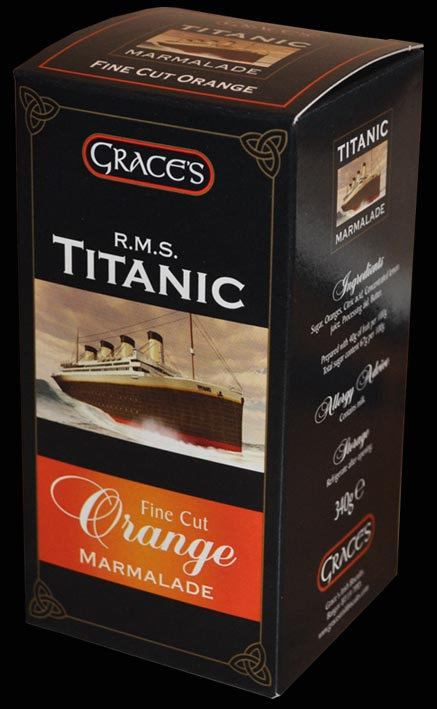 Grace's R.M.S. Titanic Fine Cut Orange Marmalade 340g