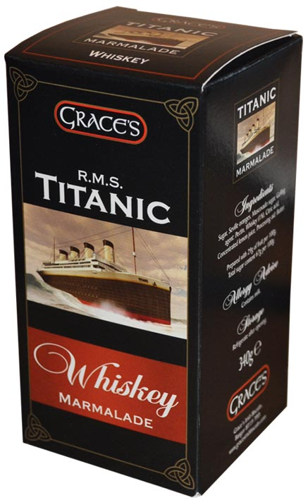 Grace's R.M.S. Titanic Whiskey Marmalade 340g